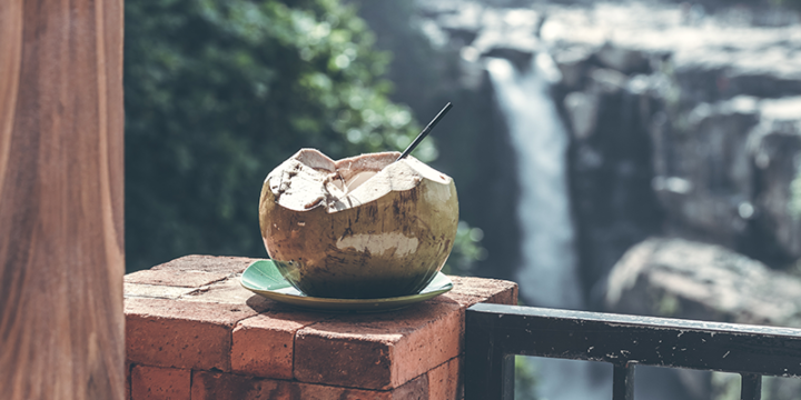 Coconut water with pre-workout