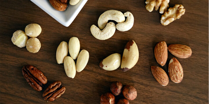Mixed Nuts for pre-workout nutrition
