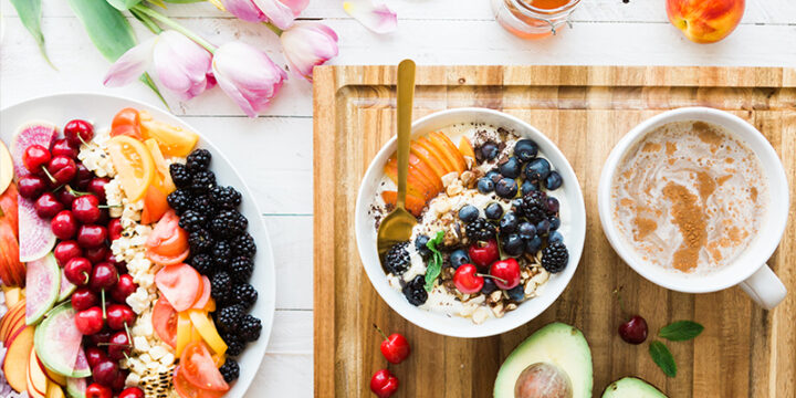 Taking multivitamin with breakfast